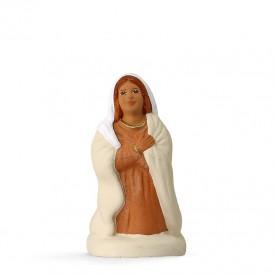 Marie à genoux