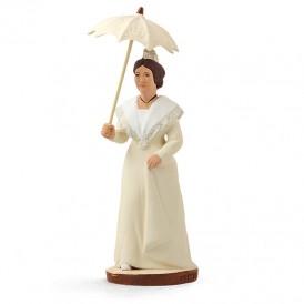 Arlésienne à l'ombrelle 'écrue'
