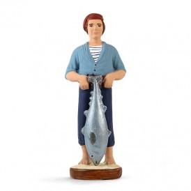 Pêcheur au thon
