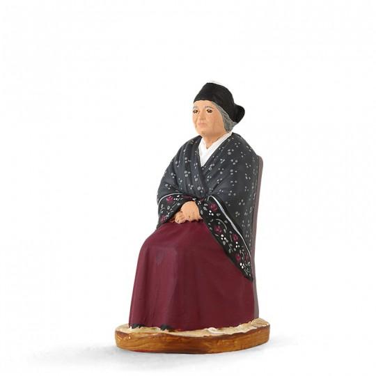 Arlésienne assise