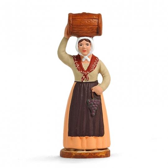 Femme au tonnelet
