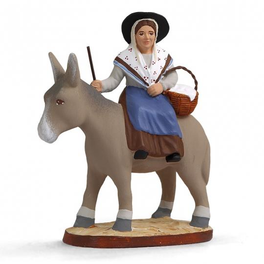 Margarido sur l'âne