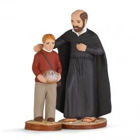 St Ignace de Loyola et enfant