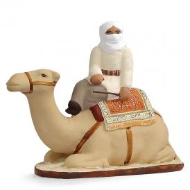 Chameau et chamelier ivoire