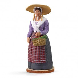 Femme au panier