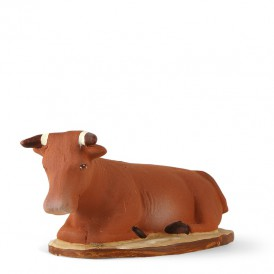 Santon du bœuf de la crèche