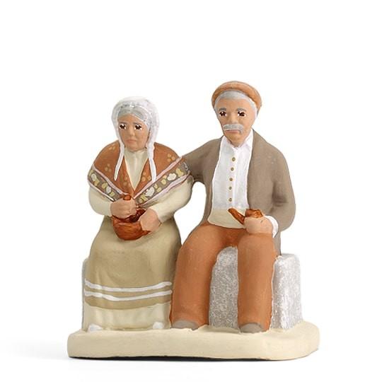 Couple sur le banc