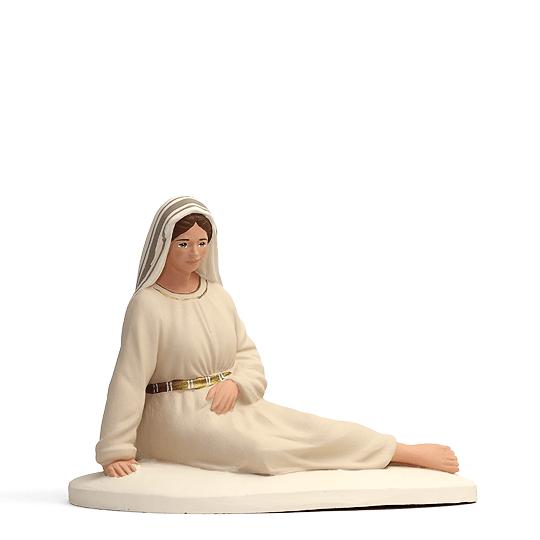 Marie allongée