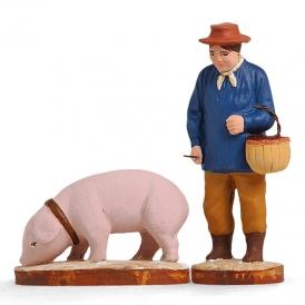 Rabassier et son cochon
